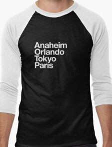 Four Magical Cities Men's Baseball ¾ T-Shirt