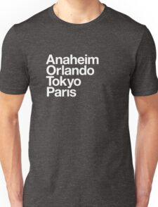 Four Magical Cities Unisex T-Shirt
