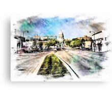 Madison Rush Hour Canvas Print