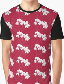 Red Orchids Graphic T-Shirt