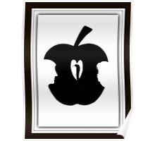 FORBIDDEN--TEMPTATION...ADAM & EVE--APPLE--SERPENT.-JOURNAL-.PICTURE-PILLOW-TOTE BAG-CELL PHONE COVERS ECT. Poster