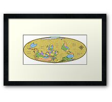 Change Your Worldview Framed Print