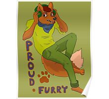Furry Pride Poster