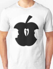 FORBIDDEN--TEMPTATION...ADAM & EVE--APPLE--SERPENT.-JOURNAL-.PICTURE-PILLOW-TOTE BAG-CELL PHONE COVERS ECT. T-Shirt