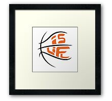 Ball Is Life Framed Print