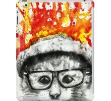 Kitty Geeking iPad Case/Skin