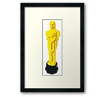 Lego Oscar Award Framed Print