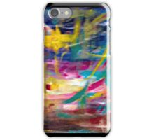 painting through abstraction  iPhone Case/Skin