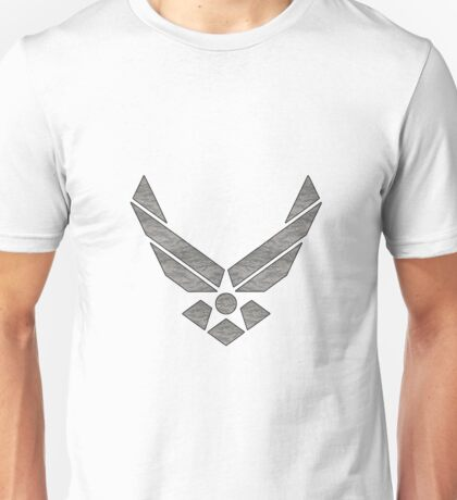 U.S. Air Force Logo Camo Unisex T-Shirt