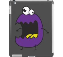 Little Purple Monster iPad Case/Skin