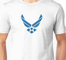 U.S. Air Force Logo Blue Unisex T-Shirt