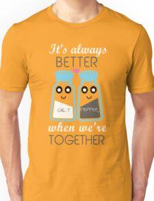 salt and pepper  Unisex T-Shirt
