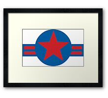 U.S. Air Force Logo  Framed Print