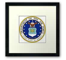 U.S. Air Force Seal Framed Print