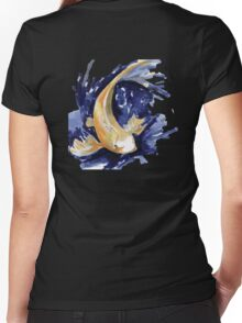 Golden Koi Women's Fitted V-Neck T-Shirt