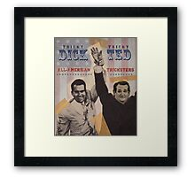 Dick & Ted Framed Print