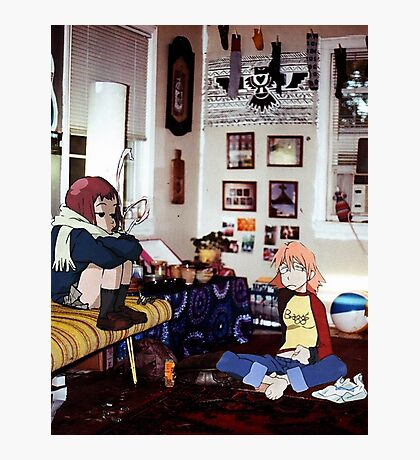 Haruko & Mamimi (Flcl) Photographic Print