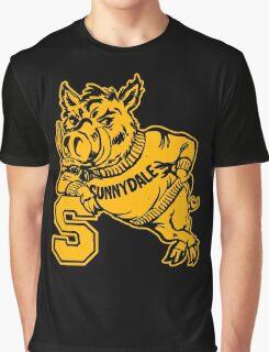 Sunnydale High Razorbacks Funny Men's Hoodie Graphic T-Shirt