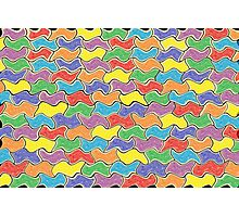 Colorful Fluctuations  Photographic Print