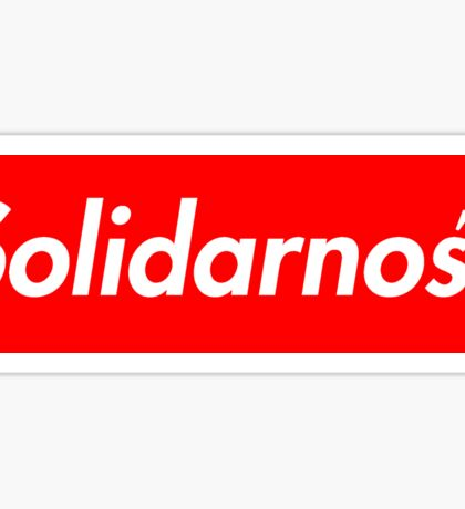 Solidarność Logo (Solidarity - Poland) Sticker