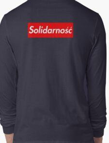 Solidarność Logo (Solidarity - Poland) Long Sleeve T-Shirt