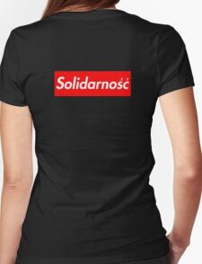 Solidarność Logo (Solidarity - Poland) Womens Fitted T-Shirt