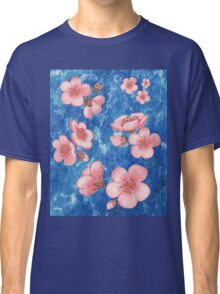 Pink Flowers for Baby Room Classic T-Shirt
