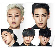 BigBang Faces Poster