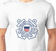 U.S. Coast Guard Logo Unisex T-Shirt