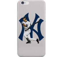 baseball bat derek jetter iPhone Case/Skin