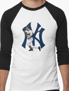baseball bat derek jetter Men's Baseball ¾ T-Shirt