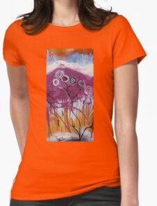 Frozen In Time Womens Fitted T-Shirt