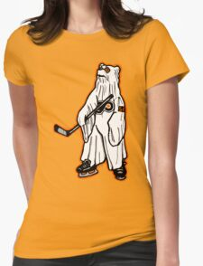 Ghost Bear II Womens Fitted T-Shirt
