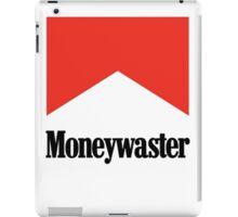 Moneywaster Funny Marlboro parody anti-smoking shirt  iPad Case/Skin