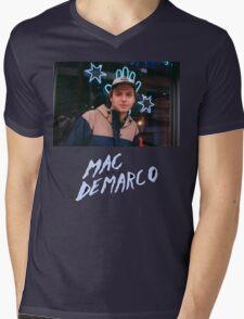 My man Mac Mens V-Neck T-Shirt