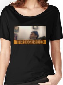 Triggered h3h3 Women's Relaxed Fit T-Shirt