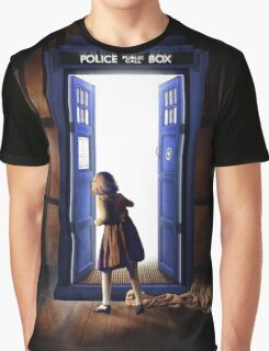 The Lion, The Witch, and The TARDIS Graphic T-Shirt