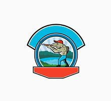 Sea Trout Hunter Shooting Circle Retro Unisex T-Shirt