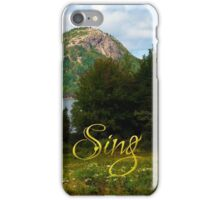 Sing Unto The Lord iPhone Case/Skin