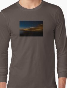 Sunset with lights Long Sleeve T-Shirt