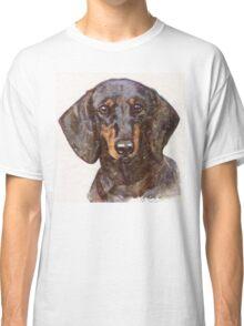 Dachshund Portrait Classic T-Shirt