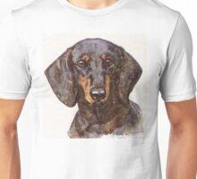 Dachshund Portrait Unisex T-Shirt