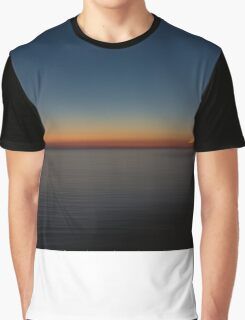 Sunset in Greece Graphic T-Shirt