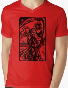 Tarot Death Card Funny Men's Tshirt Mens V-Neck T-Shirt