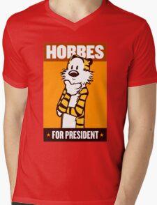 HOBBES FOR PRESIDENT Mens V-Neck T-Shirt