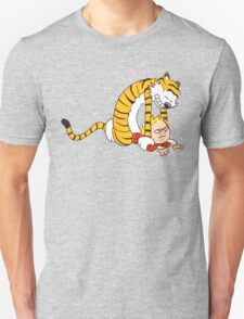 CALVIN & HOBBES : CATCH YOU! Unisex T-Shirt