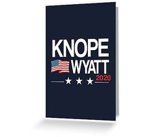 Knope 2020 Greeting Card