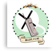 Mulder, It's Me Metal Print