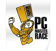 PC MASTER RACE ROBOT  Poster