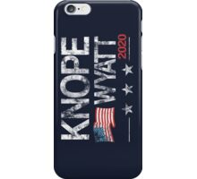 Knope 2020 Distressed iPhone Case/Skin